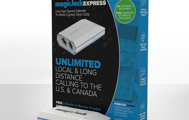 magicJackEXPRESS VoIP phone